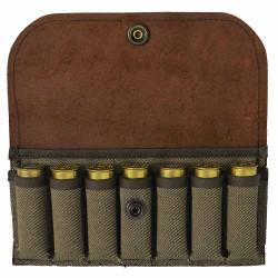 Pochette toile jean's 7 cartouches calibre 12