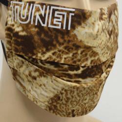 Masque de protection Tunet® camo plumes de bécasse