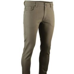 Pantalon Jean LMA 6 poches taupe