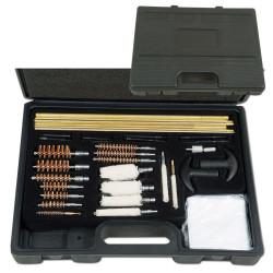 Kit di pulizia del fucile completo di 30 elementi