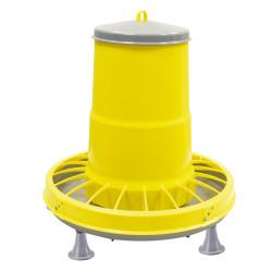 Tramoggia in plastica gialla