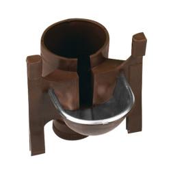 Vaschetta portabottiglie marrone