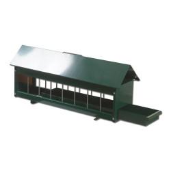 Alimentatore zincato con cassetto verde verniciato a polvere