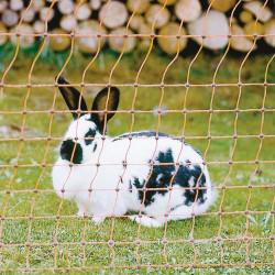Rete per conigli elettrificabile