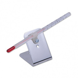 Termometro porta tubo rosso