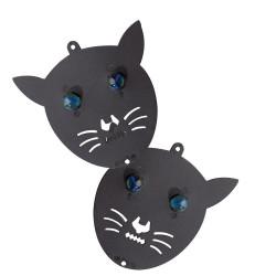 Spaventa la testa del gatto (Set di 2)