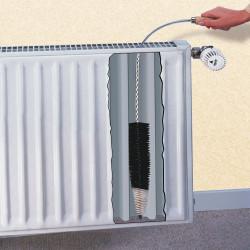 Spazzola per radiatori