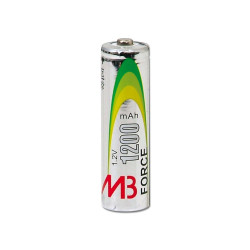 4 batterie ricaricabili LR6