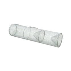 Trappola per anguille, rete metallica rivestita in plastica