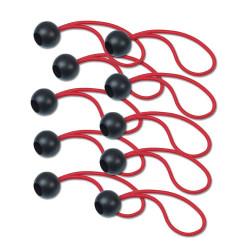 Set di fissaggi elastici a sgancio rapido da 10