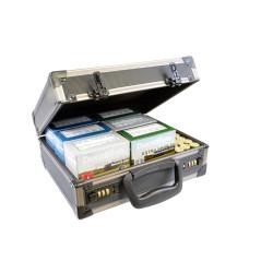 Custodia in alluminio e ABS per cartucce