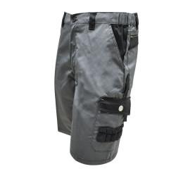Bermuda pantaloncini da lavoro bicolore