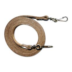 Collana lunga in pelle per la chiamata della corda