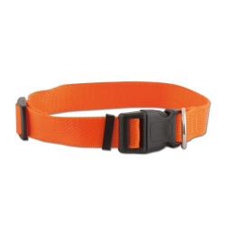 Collare regolabile in nylon 40-60cm / Arancione