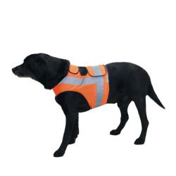 Gilet fluorescente per cani