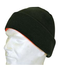 Cappello da caccia bicolore reversibile