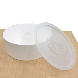 Alimentatori rotondi in plastica 2kg