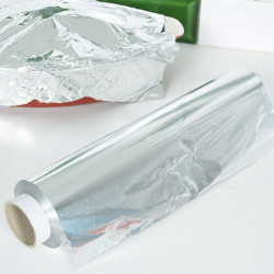 Rotolo di foglio di alluminio 150 m x 30 cm