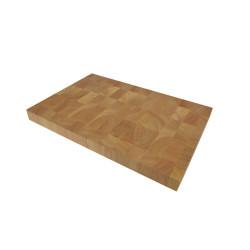 Blocco da macellaio di legno